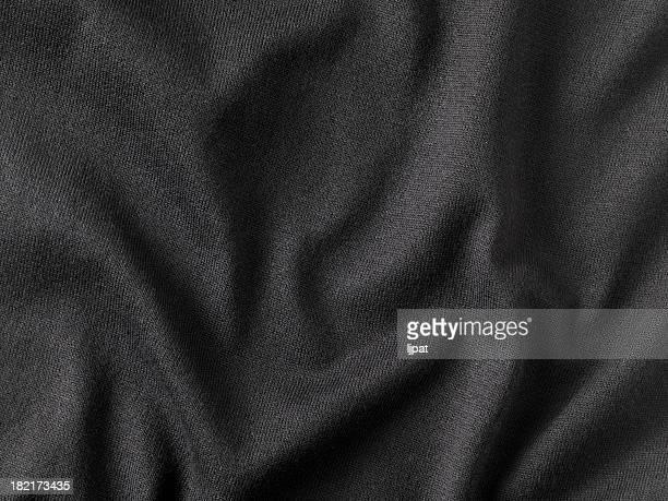 Schwarzes Gewebe-Detailarbeit