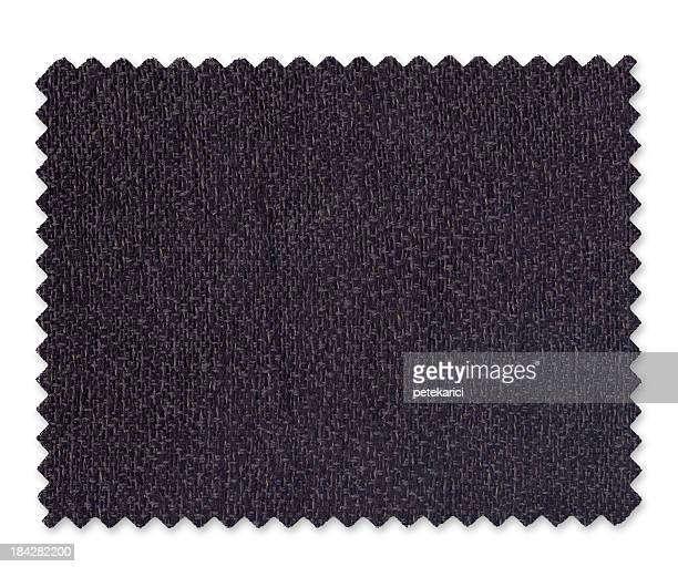 Campione di tessuto nero