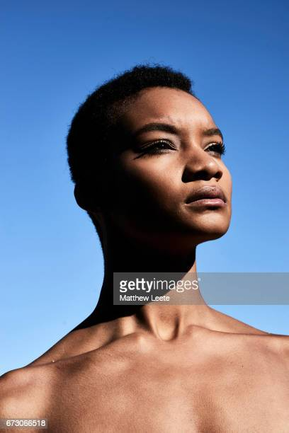 Black female strong portrait