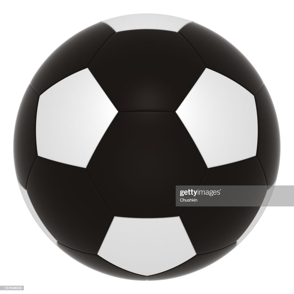 Black-football : Stock-Foto