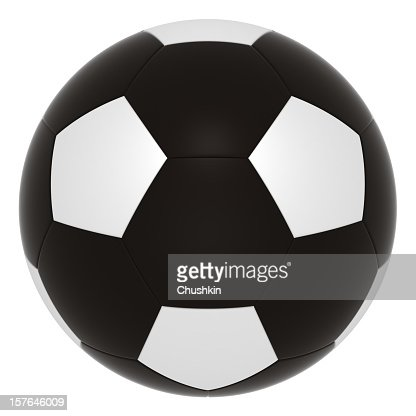 Black football : Stockfoto