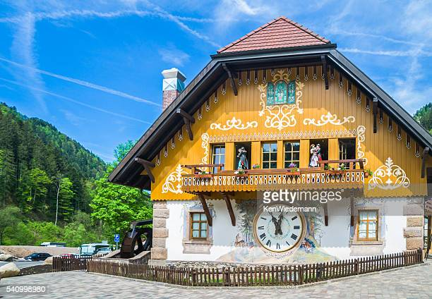 Black Forest Village Clock
