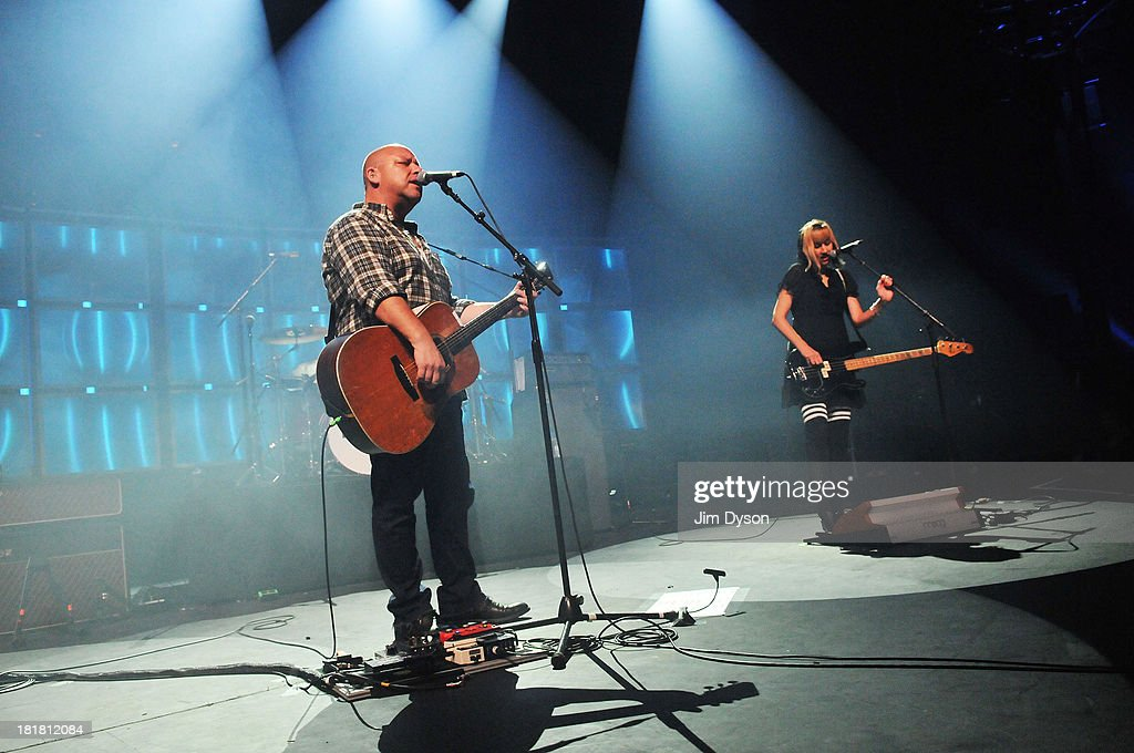 Black Francis and Kim Shattuck of The Pixies perform live on stage on Day 25 of iTunes Festival 2013 at The Roundhouse on September 25, 2013 in London, England.