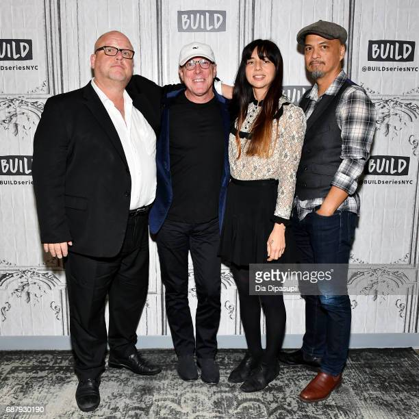 Black Francis David Lovering Paz Lenchantin and Joey Santiago of the Pixies visit the Build Series to discuss their new album 'Head Carrier' at Build...
