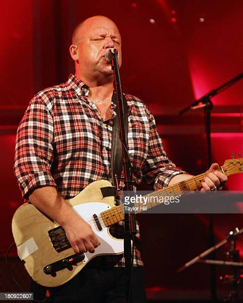 Black Francis of Pixies performs at The Bowery Ballroom on September 17 2013 in New York City