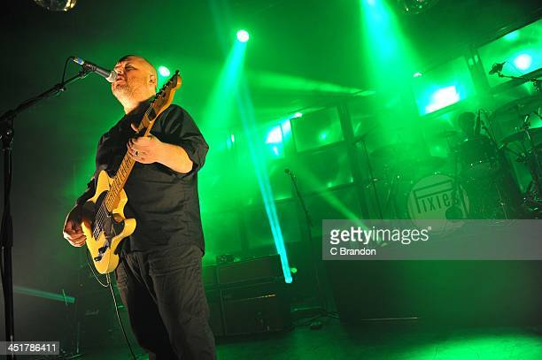 Black Francis of Pixies performs on stage at Eventim Apollo Hammersmith on November 24 2013 in London United Kingdom