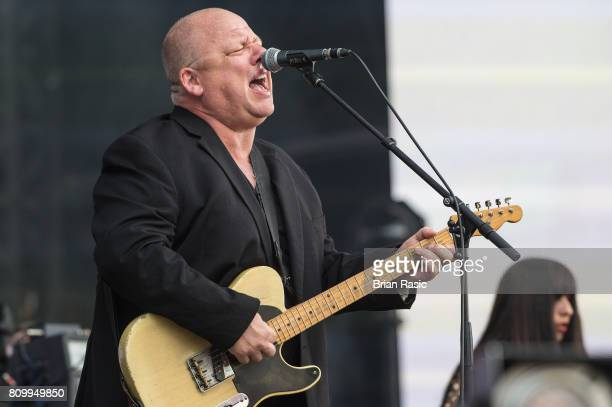 Black Francis of Pixies performs on stage at the Barclaycard Presents British Summer Time Festival in Hyde Park on July 6 2017 in London United...