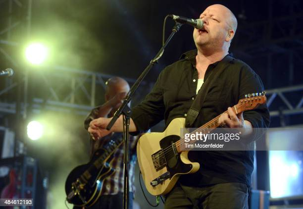 Black Francis of The Pixies performs as part of the Coachella Valley Music and Arts Festival at The Empire Polo Club on April 12 2014 in Indio...