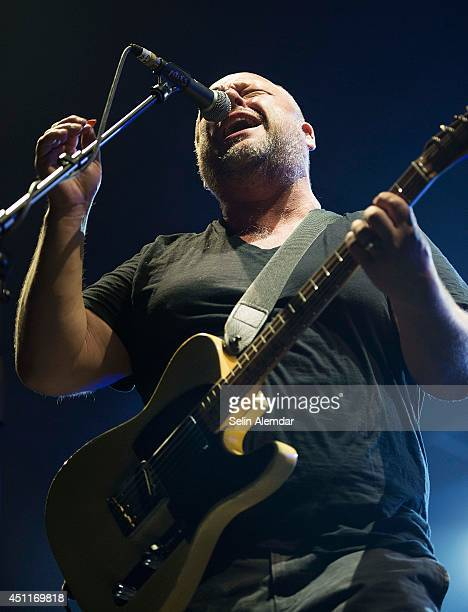 Black Francis of the Pixies performs live on stage at Black Box on June 24 2014 in Istanbul Turkey