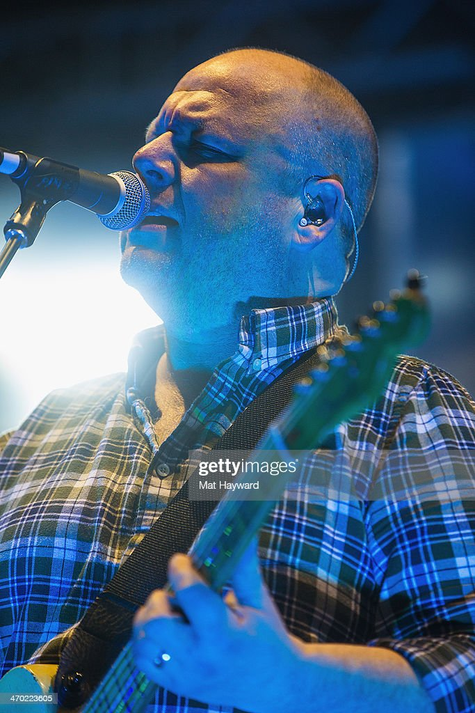 Black Francis of the Pixies performs on stage at The Paramount Theater on February 18, 2014 in Seattle, Washington.
