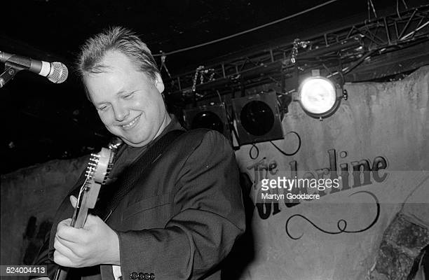 Black Francis performs on stage during a solo show at The Borderline London United Kingdom 1993