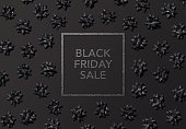 Holiday - Event, Black friday, Box - Container, Tied Bow, Web banner