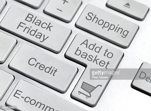 Black Friday keyboard button
