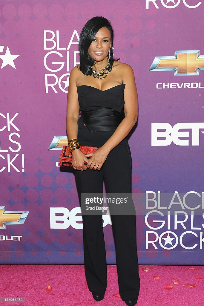 Black Girls Rock! Founder Beverly Bond attends the red carpet during the CHEVY Shot Caller's Dinner on October 12, 2012 in New York City.