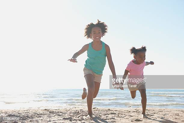 Race 7 Stock Photos and Pictures   Getty Images Girl Running On Beach