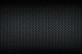Brushed honeycomb grid background. Illustration.