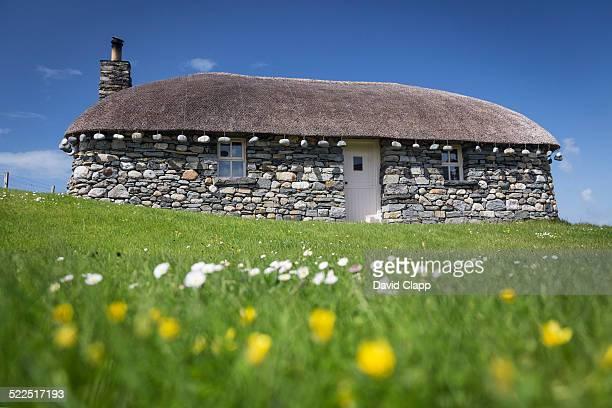 Black house, Borve, Isle of Harris, Scotland