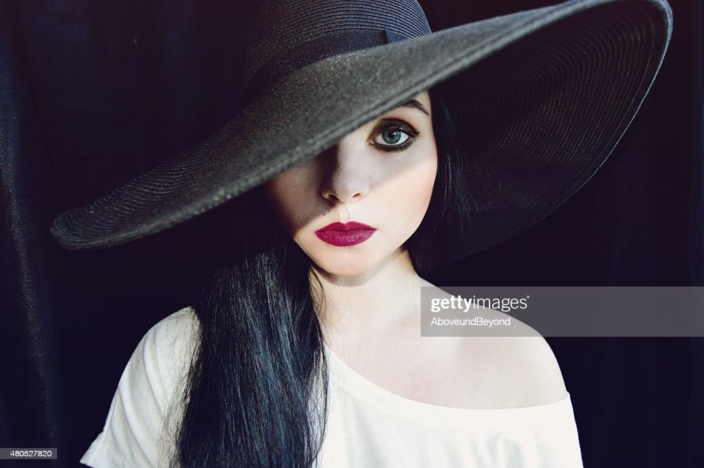 Black Lady : Stock Photo