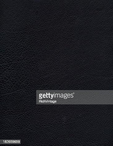Sfondo in pelle nera