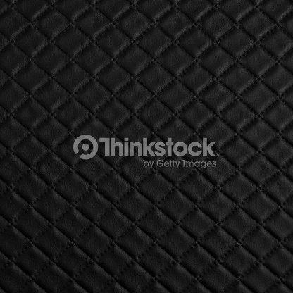 Black Leather Sofa Texture Close Up