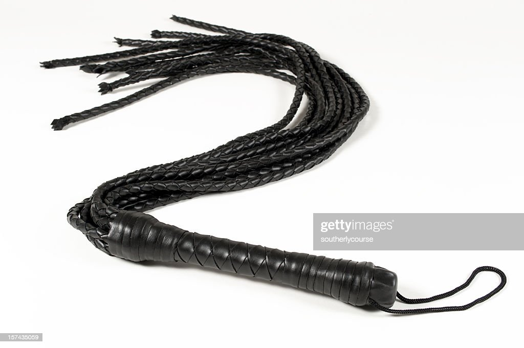 Black Leather Whip