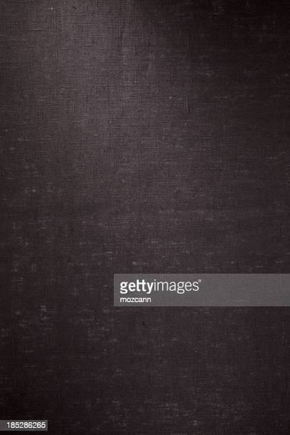 Schwarze Kurzjacke, Leinen-Struktur