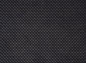 black linoleum background, rubber floor pattern