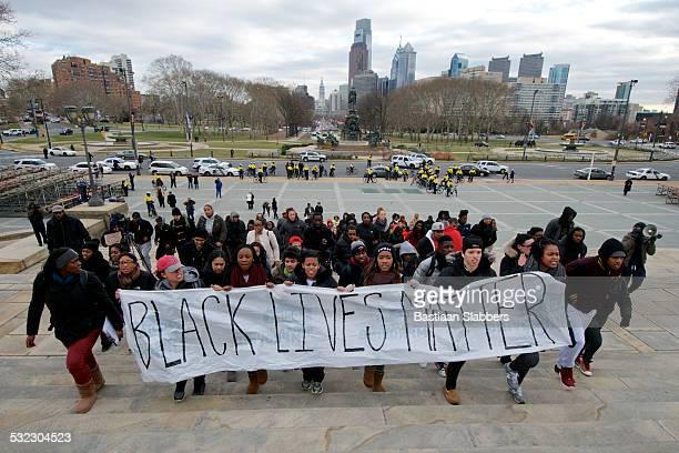 'Black Lives Mater' protest in Philadelphia, PA