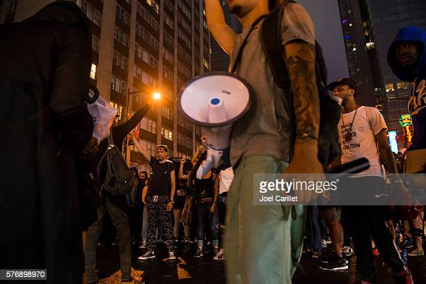 Black Lives Matter protest in Manhattan, New York City
