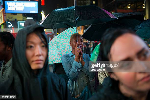 Black Lives Matter protest in Times Square, New York