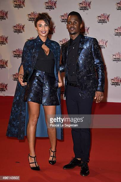 Black M attends the 17th NRJ Music Awards at Palais des Festivals on November 7 2015 in Cannes France