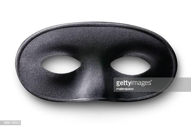 Schwarze Maske