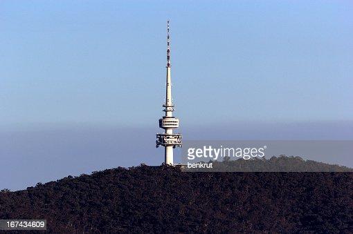 Black Mountain Tower : Stock Photo