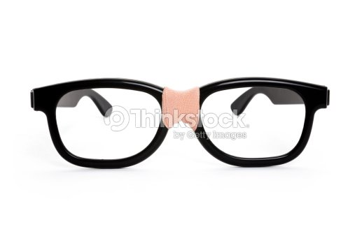cf8eb099b3e Black nerd Glasses   Stock Photo