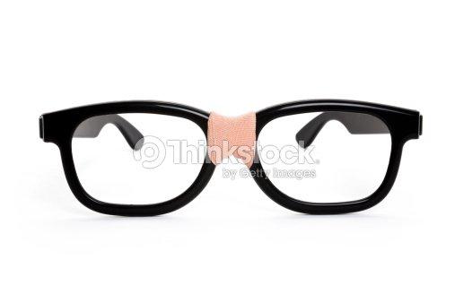 cf8eb099b3e Black nerd Glasses   Stock Photo