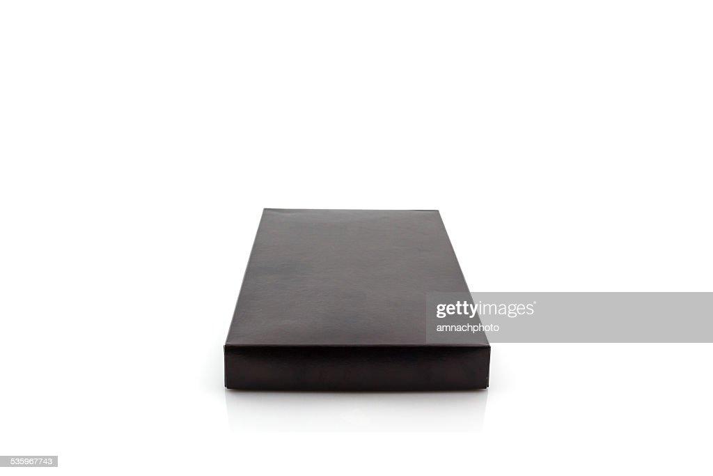 Black paper box. : Stock Photo