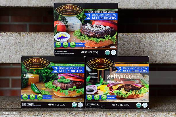 Black Pepper and Blue Cheese Jalapeño and Cheddar Cheese and Three Cheese burgers are the three newest options of Frontieré burgers that can be found...