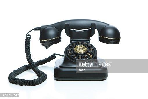 ブラックの電話