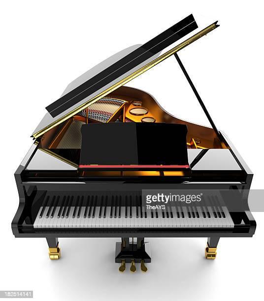 ブラックのピアノ