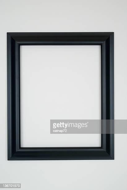 Black Picture Frame, White Background