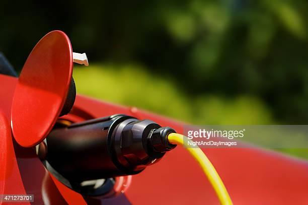 Elektroauto aufgeladen werden