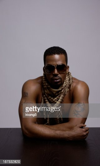 black rapper with shades