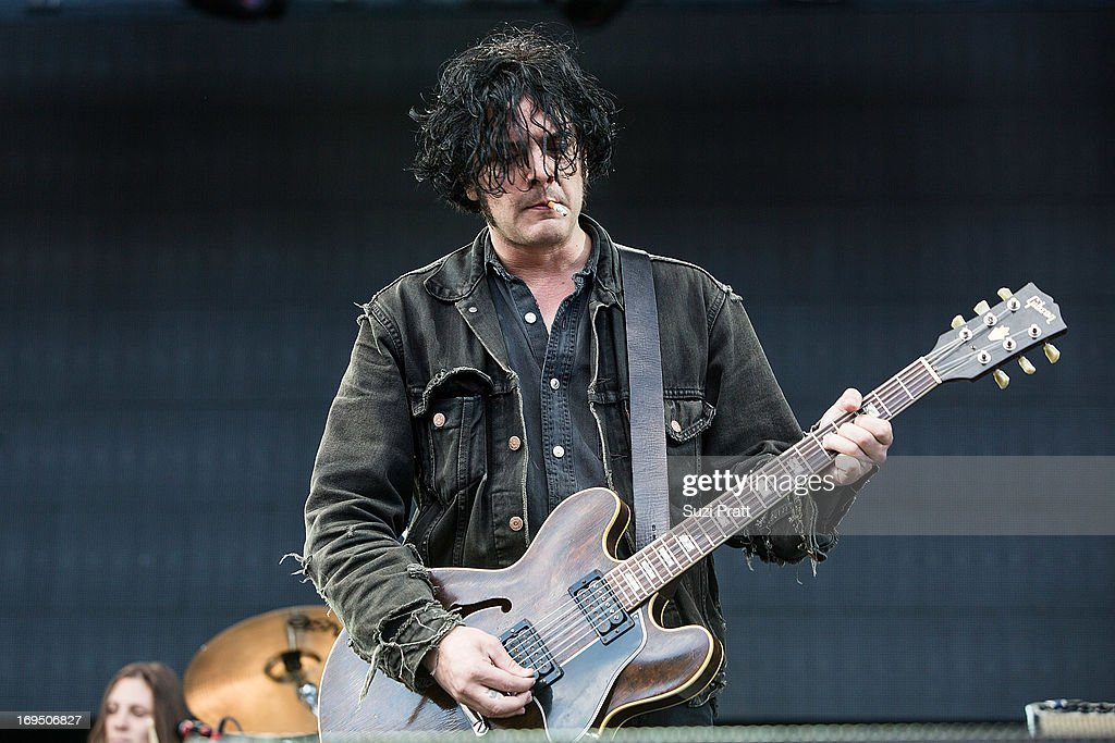 <a gi-track='captionPersonalityLinkClicked' href=/galleries/search?phrase=Black+Rebel+Motorcycle+Club&family=editorial&specificpeople=2204872 ng-click='$event.stopPropagation()'>Black Rebel Motorcycle Club</a> performs live at the Sasquatch Music Festival at The Gorge on May 25, 2013 in George, Washington.