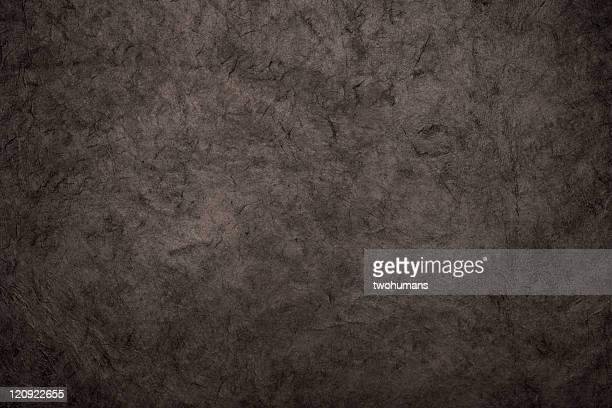 Black rice paper texture background