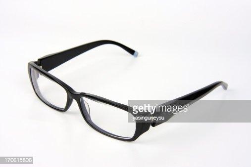Black Rimmed Spectacles