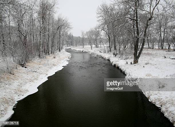 Black River in Winter