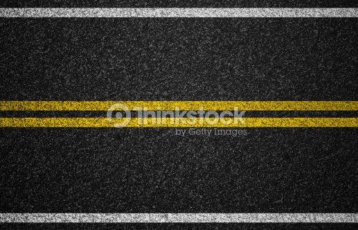 Asphalt Autobahn Mit Straße Zeichnung Im Hintergrund Stock-Foto ...