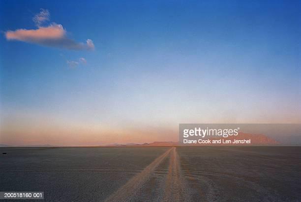 Black Rock Desert, near Gerlach, Nevada USA