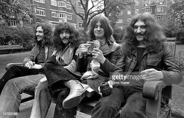 Bill Ward Tony Iommi Ozzy Osbourne Geezer Butler in