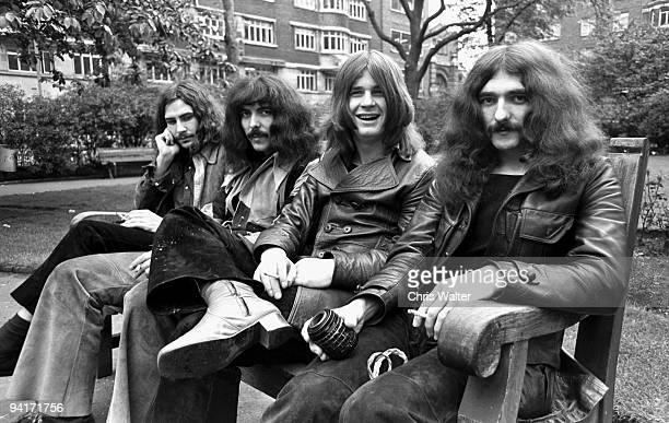 Bill Ward Tony Iommi Ozzy Osbourne Geezer Butler